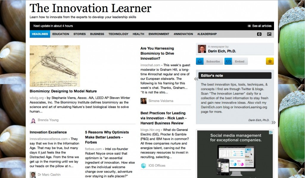 Innovation Daily E-Magazine
